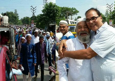 Dr. Madhepuri greetings Eid .