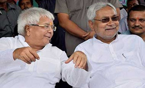 nitish and lalu