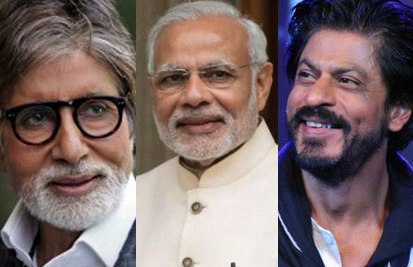 Amitabh, Modi & Shahrukh