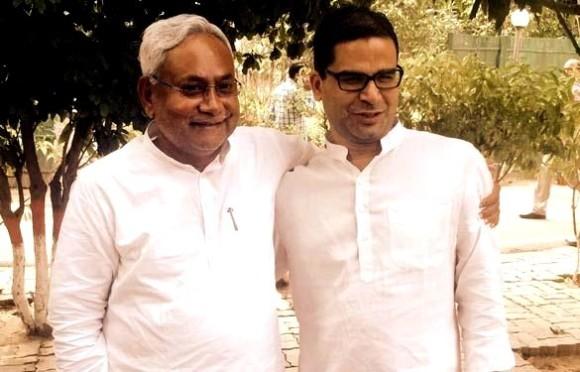 Nitish Kumar & Prashant Kishor