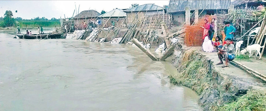 Flood in River Kosi