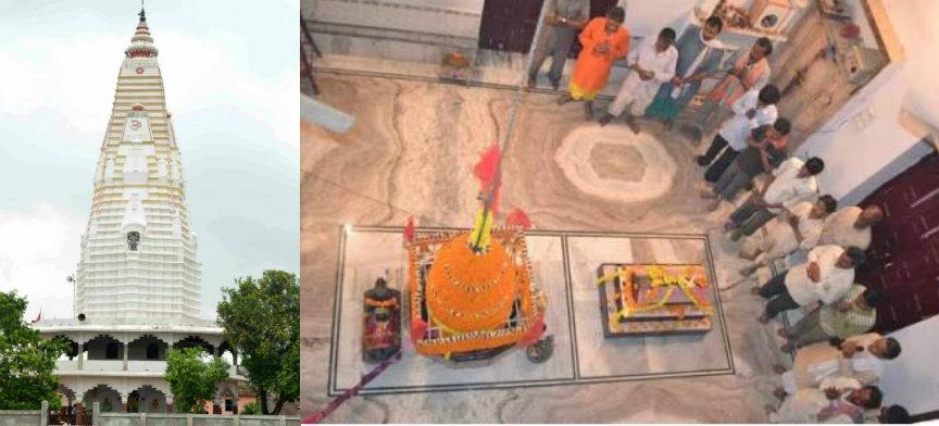 Shivlingam & Mazar of Khudni inside Khudneshwar Shiv Temple , 17Kms. South-West from Samastipur District Town.