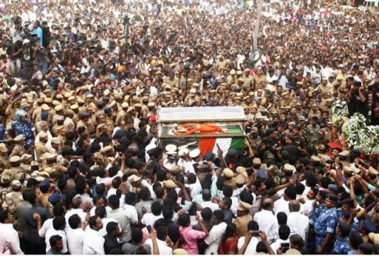 The Last Journey of Jayalalitha