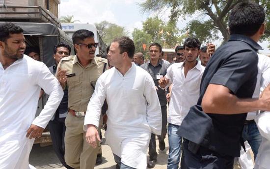 Rahul Gandhi in Mandsaur