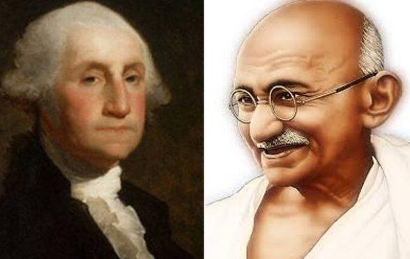 George Washigton-Mahatma Gandhi