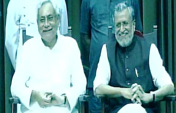 Nitish Kumar Sushil Kumar Modi
