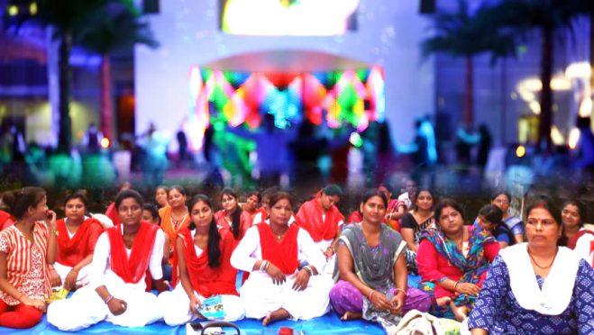 Patanjali 25 Days cum Shikshak Prashikshan Shivir Samapan Samaroh at Rasbihari High School, Madhepura .