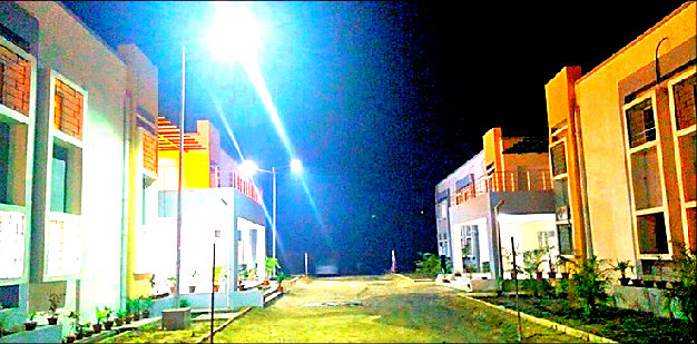 Block Hostel Building (One) ready for officers & other employees inside the campus of Green Field Electric Engine Factory Madhepura.