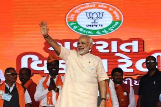 PM Modi in Gujrat
