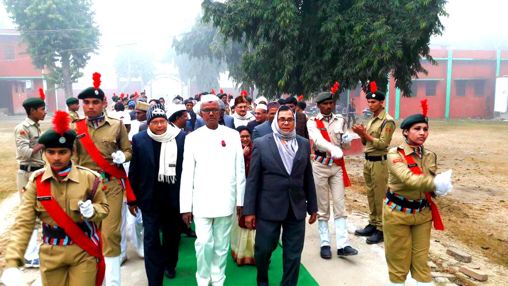 Republic Day at T.P. College , Madhepura.