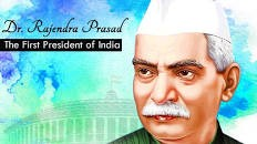 First President of India Dr.Rajendra Prasad