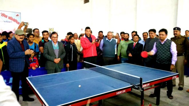 67th State Level Table Tennis Tournament at BN Mandal Stadium Madhepura.