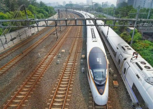 Driverless Fuxing bullet train china