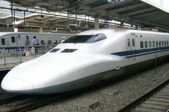 Madhubani Paintings proposed to Japanese Bullet Train .