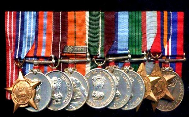 Indian Army Medals
