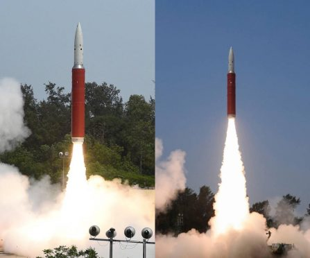 India Tests Anti-Satellite Missile.