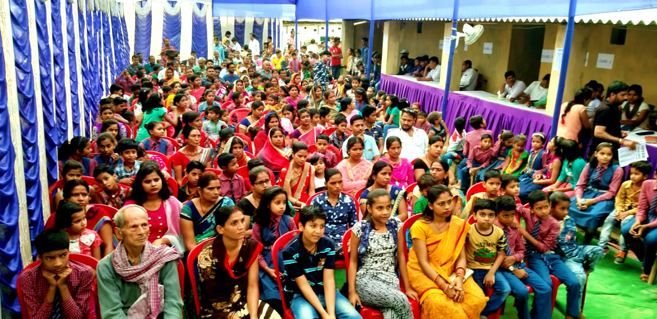 Guardians, Students and Teachers during Prize Distribution Ceremony of Tulsi Public School.