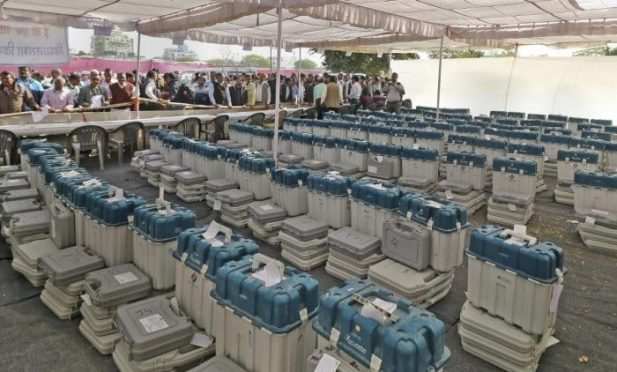 Counting of 2019 Loksabha Election.