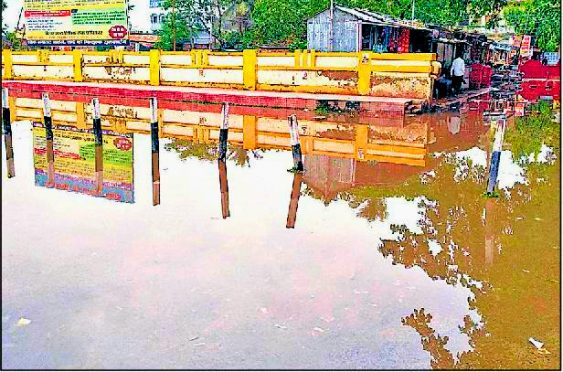 Monsoon Rain devastated Madhepura Town.