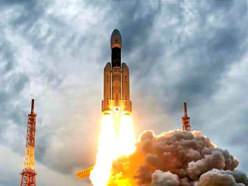 Chandrayaan- 2 launched by India.