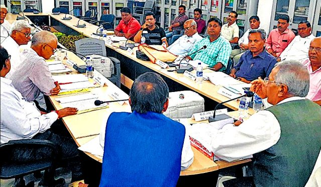 Syndicate Meeting at BNMU on 21st August 2019.