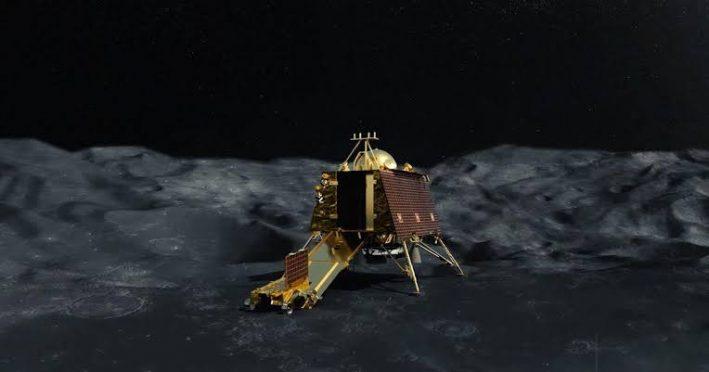 Chandrayaan- 2 lander Vikram