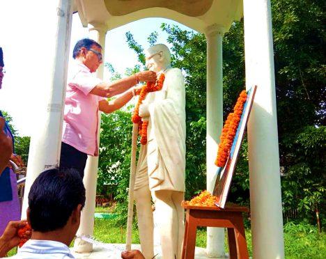 Gandhi Jayanti (2 October) celebration at Madhepura.