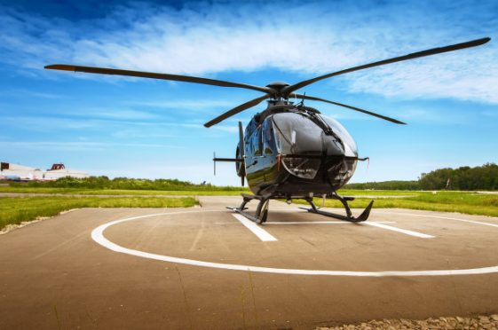 Proposed Helipads in all districts in Bihar.