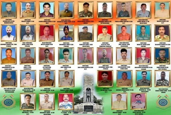 Pulwama Martyrs.