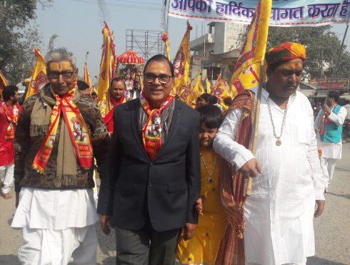 Khatu Shyam Mahotsav Procession at Madhepura.
