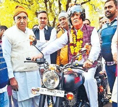 Retirement of Inspector Mahaveer Singh Antil.