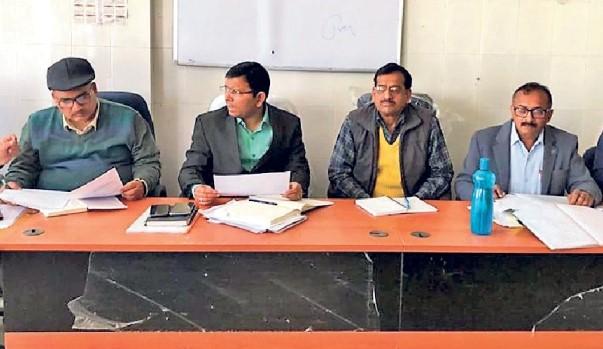 DM Navdeep Shukla in Agriculture meet.
