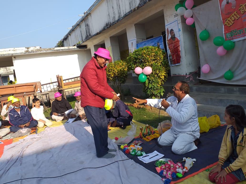 Patanjali Holi Milan at Madhepura.