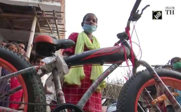 Cycle Girl Jyoti