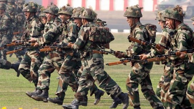 Indian Army on alert at Indo-China Border.