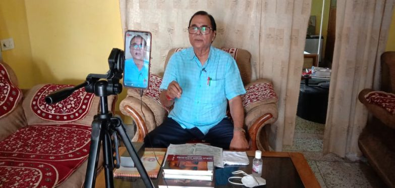 Dr.Bhupendra Narayan Yadav Madhepuri on 7th BNMU Samvad.