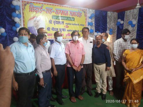 Welcome to SDM Neeraj Kumar and Farewell to Vrindalal.