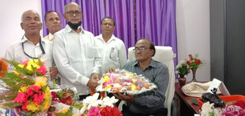 Dr.RKP Raman 25th Vice-Chancellor of BNMU.