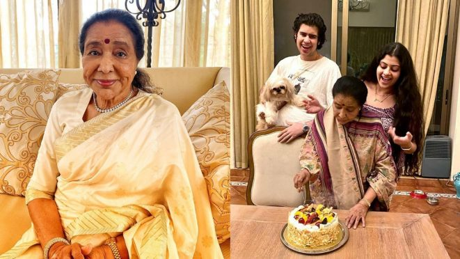 Asha Bhoshle 87th Birthday