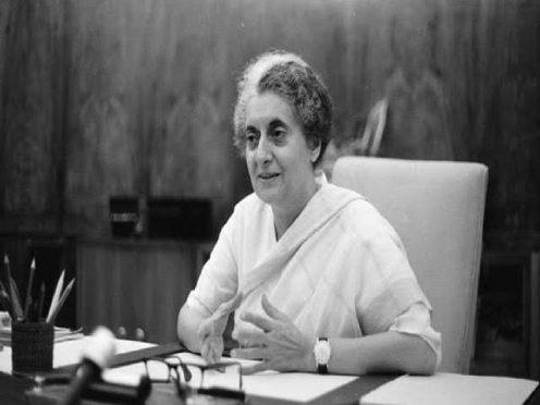 Iron lady Indira Gandhi
