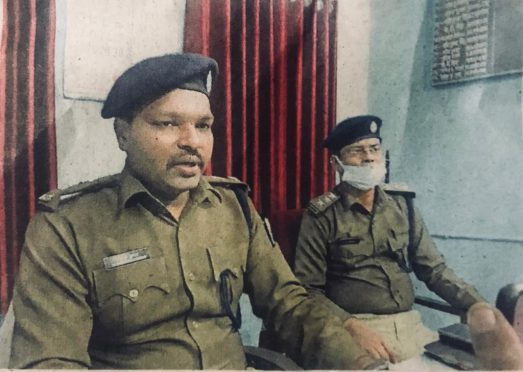 SP and SDPO Madhepura.