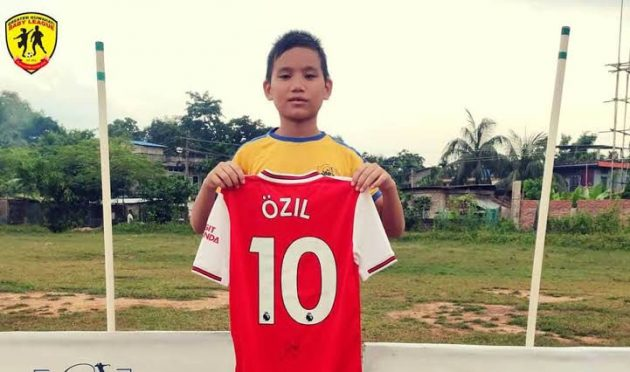 Youngest Footballer from Asam Preetam