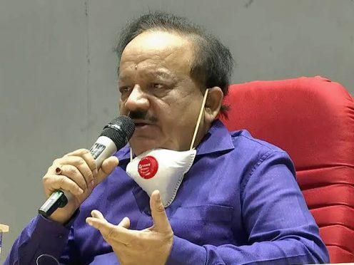 Health Minister Dr.Harshvardhan