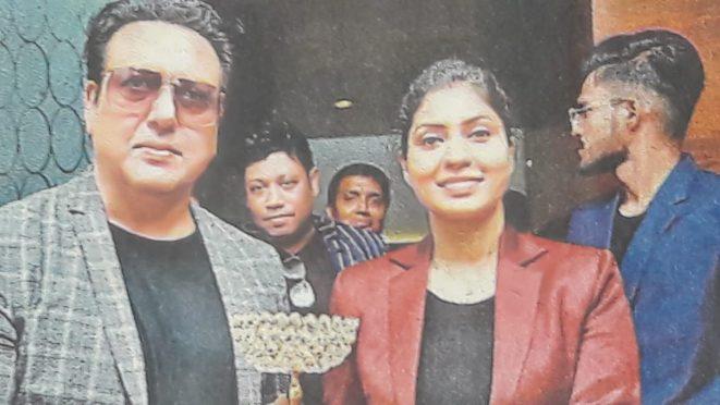 Shivani gets Women Substance Award 2021