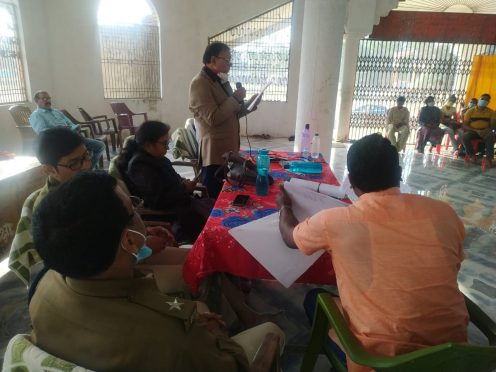 Police-Public Relation Week at Madhepura.