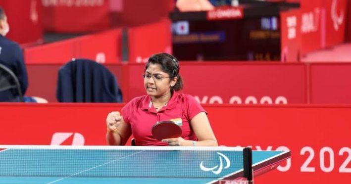 Paralympic 2020 siver medallist Bhavini Ben Patel