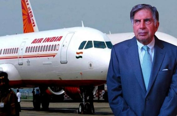 Tata Sons bought AirIndia.
