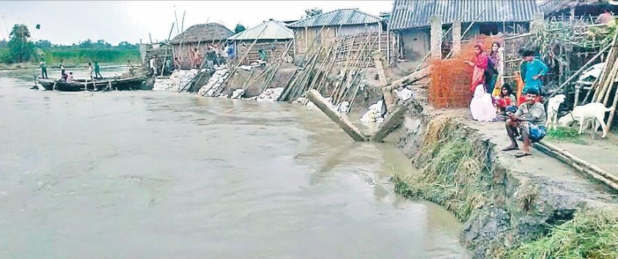 Flood in River Kosi