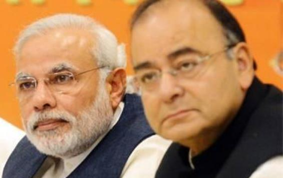 Narendra Modi & Arun Jaitely