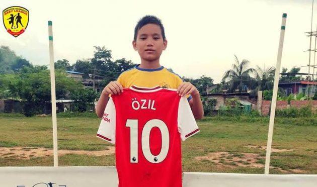 Youngest Footballer from Asam Preetam
